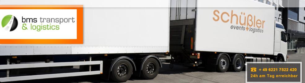 Spedition von Deutschland nach England, Schottland und Irland - BMS Transport & Logistics - header-auflieger
