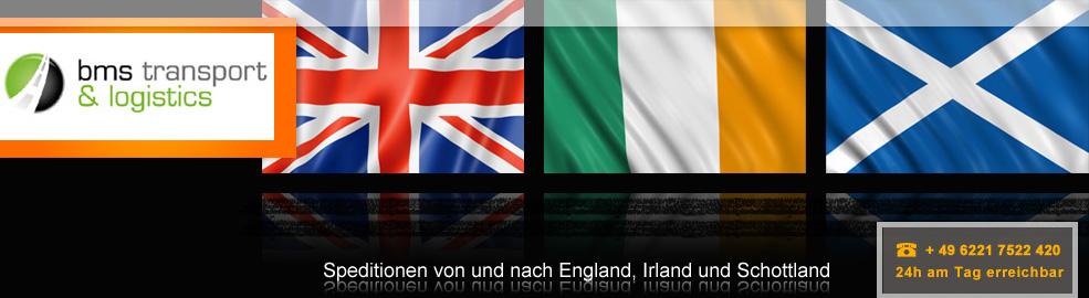 Spedition von Deutschland nach England, Schottland und Irland - BMS Transport & Logistics - header-england-irland-schot
