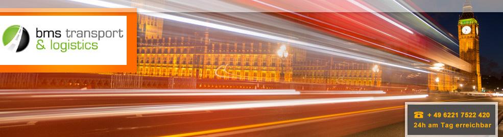 Spedition von Deutschland nach England, Schottland und Irland - BMS Transport & Logistics - header-london-express