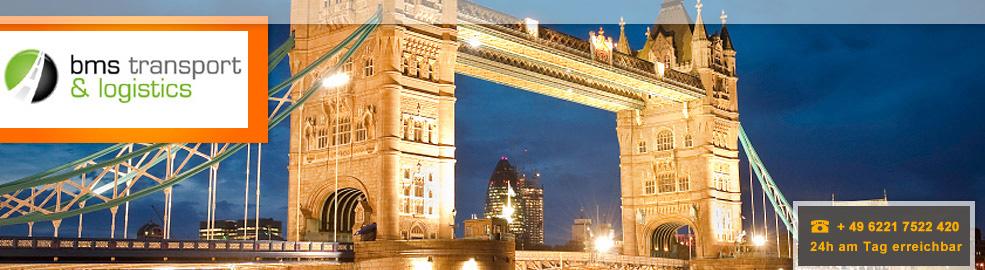 Spedition von Deutschland nach England, Schottland und Irland - BMS Transport & Logistics - header-london